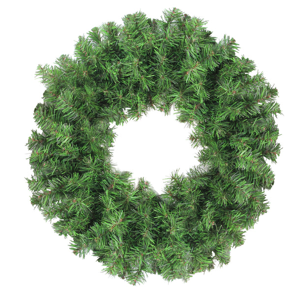 "16"" Colorado Spruce 2-Tone Artificial Christmas Wreath - Unlit"
