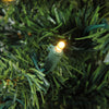 "6' x 21"" Pre-Lit LED Northern Balsam Fir Pencil Artificial Christmas Tree - Warm Clear Lights"