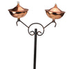 "42"" Shiny, Sleek Copper Oil Lamp Outdoor Patio Torch"