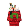 "18"" Pre-Lit Red and Green Snoopy with Star Outdoor Christmas Decor"