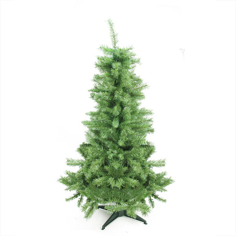 "4.5' x 28"" Slim Mixed Pine Artificial Christmas Tree - Unlit"