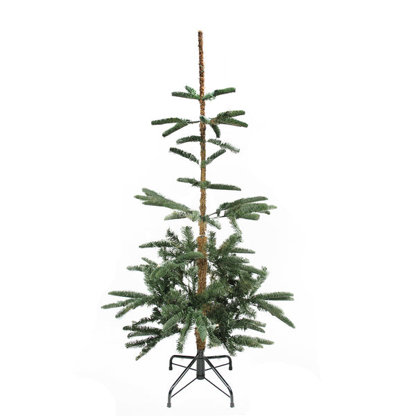 4.5' Slim Noble Fir Layered Artificial Christmas Tree - Unlit