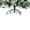 6' Medium Flocked Angel Pine Artificial Christmas Tree - Unlit