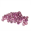 "60ct Bubblegum Pink Shatterproof 4-Finish Christmas Ball Ornaments 2.5"" (60mm)"