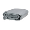 19.5' Gray Rectangular Swimming Pool Ground Cloth