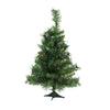 2' Pre-Lit Medium Royal Pine Artificial Christmas Tree - Multicolor Lights