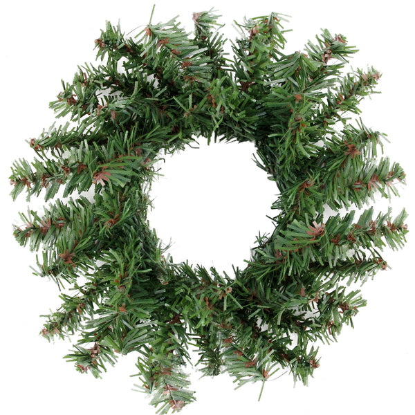 "5"" Mini Pine Artificial Christmas Wreath - Unlit"