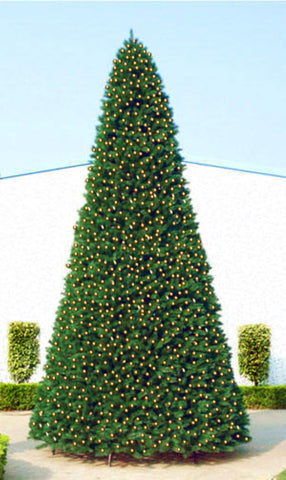 12' Pre-Lit Green Slim Pine Artificial Christmas Tree - Clear Lights