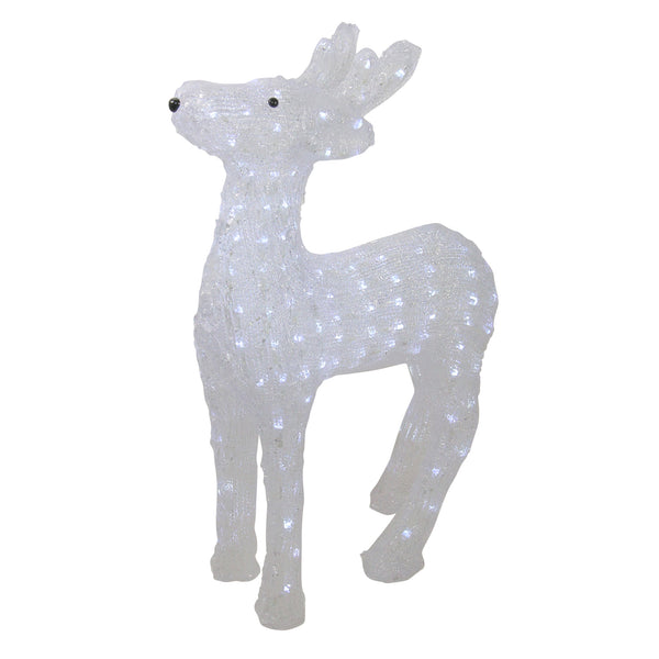 "23"" Lighted Commercial Grade Reindeer Christmas Display Decor"