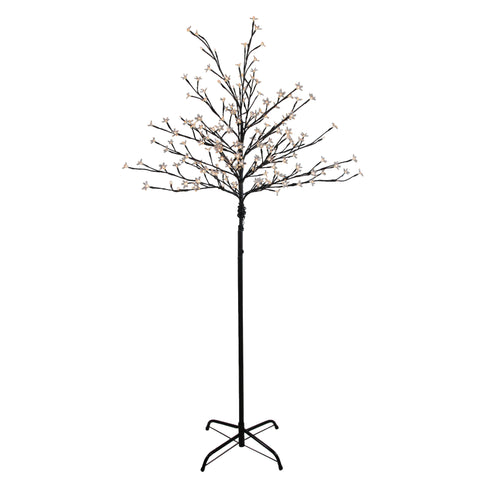 6' LED Lighted Cherry Blossom Flower Tree - Warm White Lights