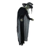 6' LED Lighted Standing Wicked Witch with Cape Halloween Decoration