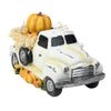 "11.25"" Truck Full of Pumpkins and Hay Thanksgiving Table Top Figure"