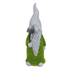 "14"" Moss Covered Gnome with Shovel Garden Statue"