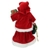 "12"" Mrs. Claus Holding a Gift and Bag Christmas Figure"