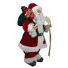 "24"" Santa Claus with Naughty or Nice List and Bag of Presents Christmas Figure"