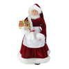 "24"" Mrs. Claus with Braided Hair and Gifts Christmas Figure"