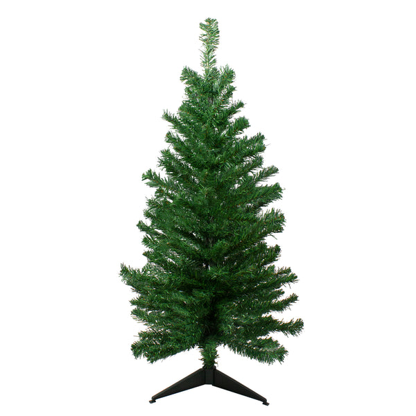 3' Medium Mixed Classic Pine Artificial Christmas Tree - Unlit