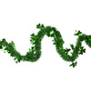 "25' x 2.25"" Irish Shamrock Tinsel St. Patrick's Day Garland - Unlit"