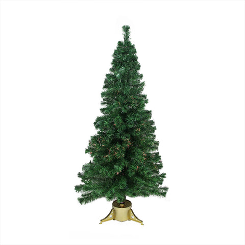 4' Pre-Lit Color Changing Fiber Optic Artificial Christmas Tree