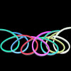50' vibrantly colored LED Christmas Rope Lights
