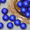 "32ct Lavish Blue Shatterproof Matte Christmas Ball Ornaments 3.25"" (82mm)"