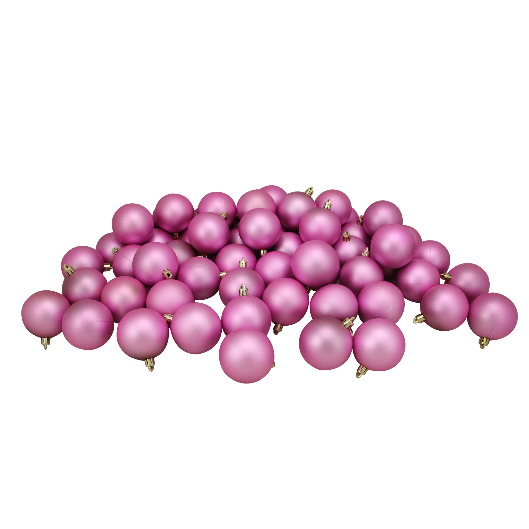 Northcape 60 Count Shatterproof Christmas Ball Ornaments Pink