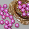 "60ct Bubblegum Pink Shatterproof Matte Christmas Ball Ornaments 2.5"" (60mm)"