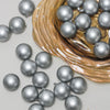 "60ct Silver Shatterproof Matte Christmas Ball Ornaments 2.5"" (60mm)"