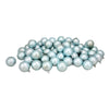 "60ct Baby Blue Shatterproof Matte Finish Christmas Ball Ornaments 2.5"" (60mm)"