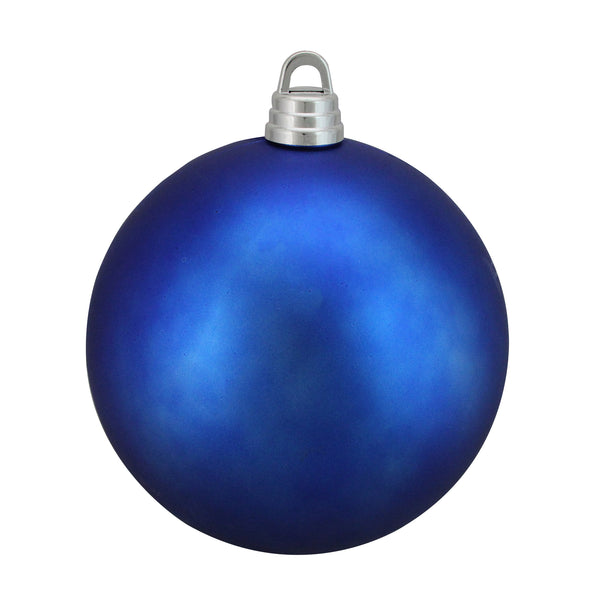 "Matte Lavish Blue Shatterproof Christmas Ball Ornament 12"" (300mm)"