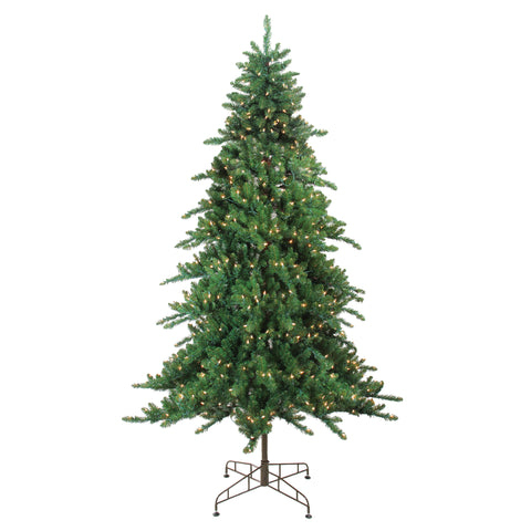 7.5' Pre-Lit Eden Spruce Artificial Christmas Tree - Clear Lights
