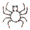 "15"" Lighted Spider Halloween Window Silhouette Decoration"