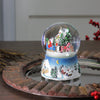 "5.5"" Animated Musical Country Winter Sleigh Ride Water Globe"