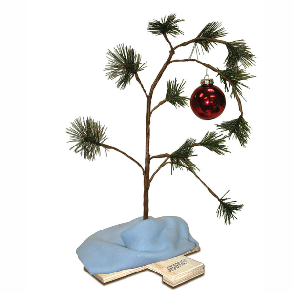 "24"" Brown Artificial Christmas Tree Tabletop Decor - Unlit"