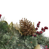 "6' x 1"" Foliage Pinecones and Berries Artificial Christmas Garland - Unlit"