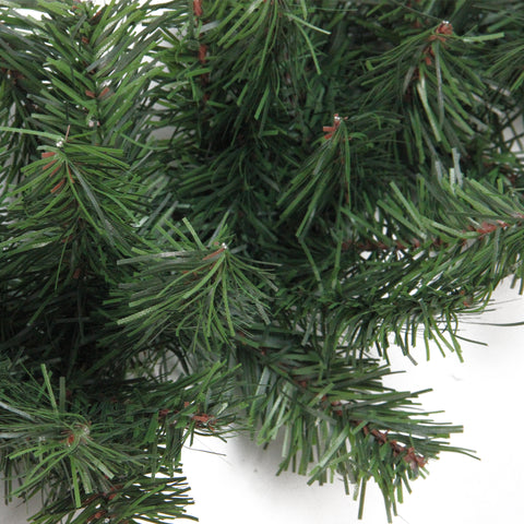 "100' x 8"" Green Commercial Length Canadian Pine Artificial Christmas Garland - Unlit"