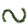 "50' x 10"" Pre-Lit Canadian Pine Commercial Artificial Christmas Garland - Clear Lights"
