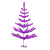 3' Medium Purple Tinsel Twig Pine Artificial Christmas Tree - Unlit