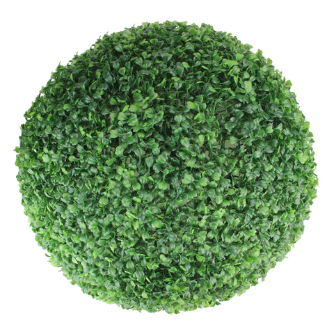 1.50' Green Two Tone Boxwood Topiary Garden Ball - Unlit