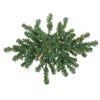 28 Pre-Lit Windsor Pine Artificial Christmas Swag - Clear Lights