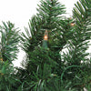 "9' x 18"" Pre-Lit Deluxe Windsor Green Pine Christmas Garland - Clear Lights"