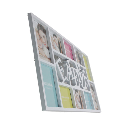 "29"" White ""Friends"" Hanging Collage Picture Frame"