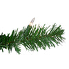 "48"" Deluxe Windsor Pine Artificial Christmas Wreath - Clear Lights"