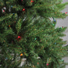 10' Pre-Lit Full Northern Pine Artificial Christmas Tree - Multicolor Lights