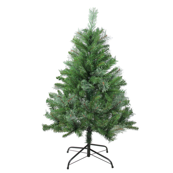4' Mixed Cashmere Pine Medium Artificial Christmas Tree - Unlit