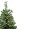 4' Pre-Lit Mixed Cashmere Pine Medium Artificial Christmas Tree - Clear Lights