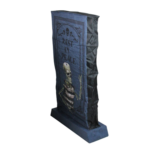 "36"" LED Lighted RIP Tombstone Halloween Outdoor Decoration"