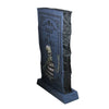 "36"" Blue and Black LED Lighted RIP Tombstone Halloween Outdoor Decoration"