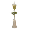 "48"" Cool White LED Lighted Christmas Outdoor Lamp Post"