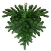 "34"" Windsor Pine Artificial Christmas Teardrop Swag - Unlit"